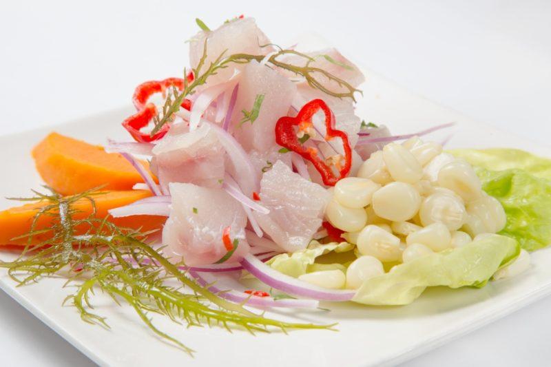 ペルー料理 魚のセビチェ
